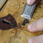 restauración de muebles con gomalaca