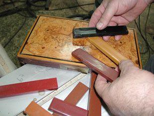 Restauración de muebles goma laca