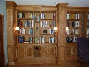 libreria en roble