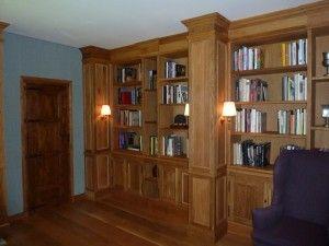 libreria estilo neo clasico