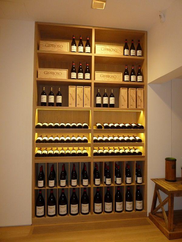mueble vinoteca hecho a medida