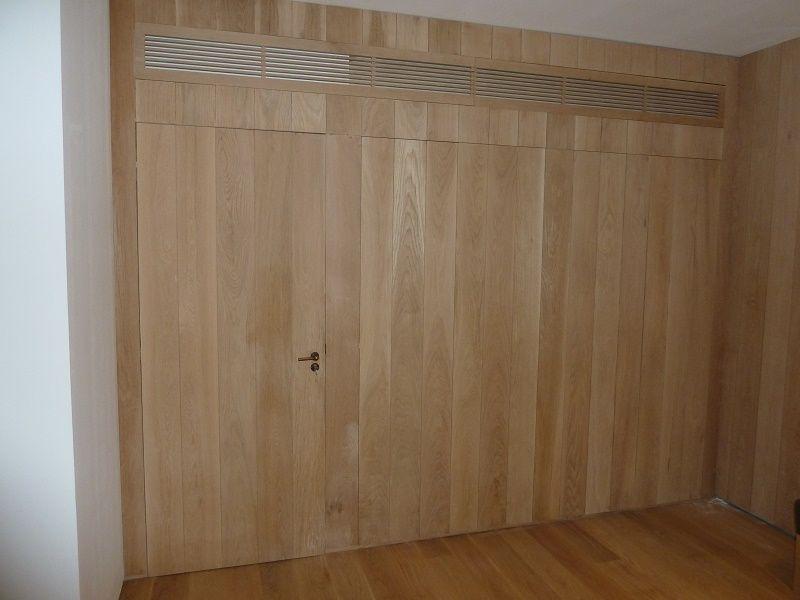 revestimiento de paredes interiores en madera