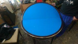 restauración mesa de juego