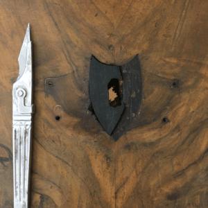 boca llave de madera de ebano
