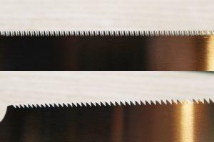 dientes de una sierra japonesa