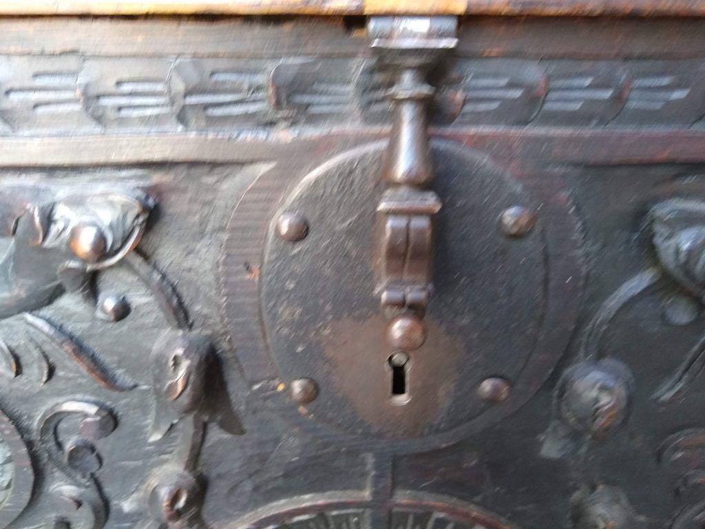 restauración cerradura antigua
