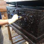 Como restaurar mueble castellaño