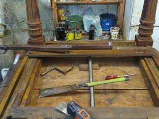 Restauración Mesa Comedor antigua