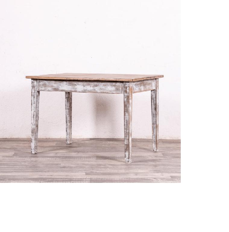 mesa rustica a la tiza