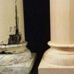 Torneado de madera restauración