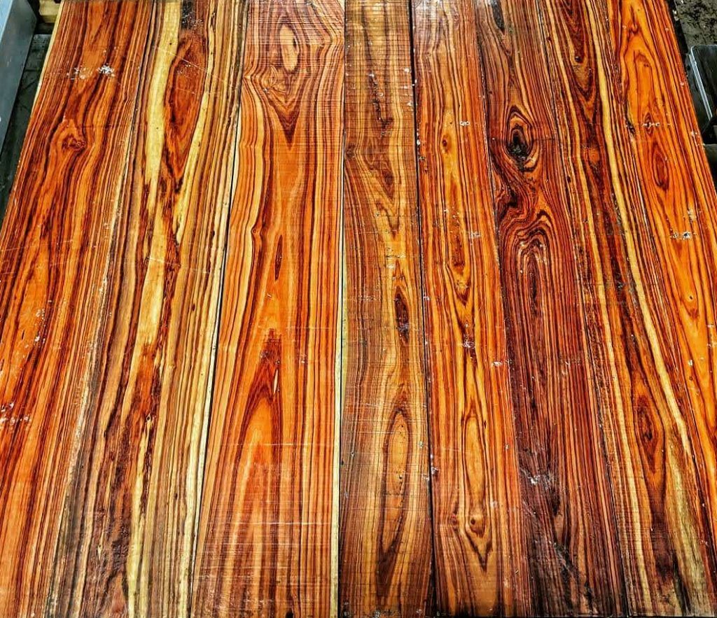 madera de palo rosa